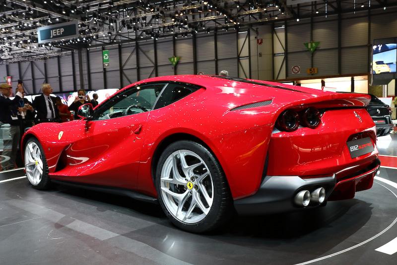 【ジュネーブショー 2017】伊フェラーリ、史上最強のV型12気筒 ...