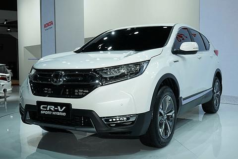 2018 Hybrid Crv >> 【オート上海2017】ホンダ、2モーターハイブリッドの新型「CR-V ハイブリッド」世界初公開
