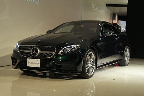 メルセデス・ベンツ、「Eクラス クーペ」全モデルに「Mercedes