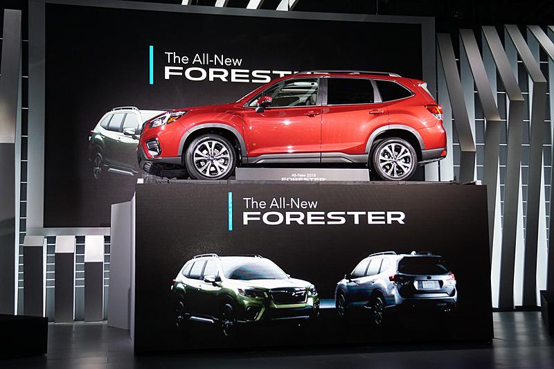 これまでの成功を引き継ぐモデルとして新型フォレスターが登場