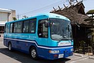 SBドライブと宇野バス、岡山県赤...