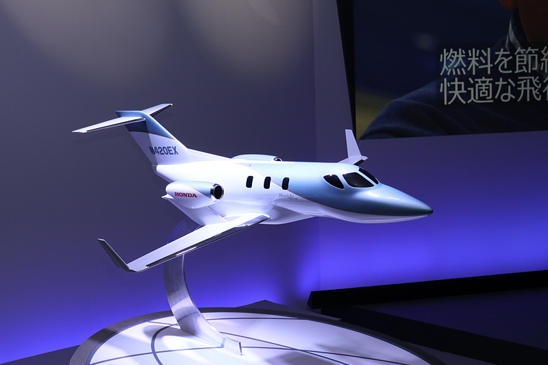 HondaJet Eliteの模型