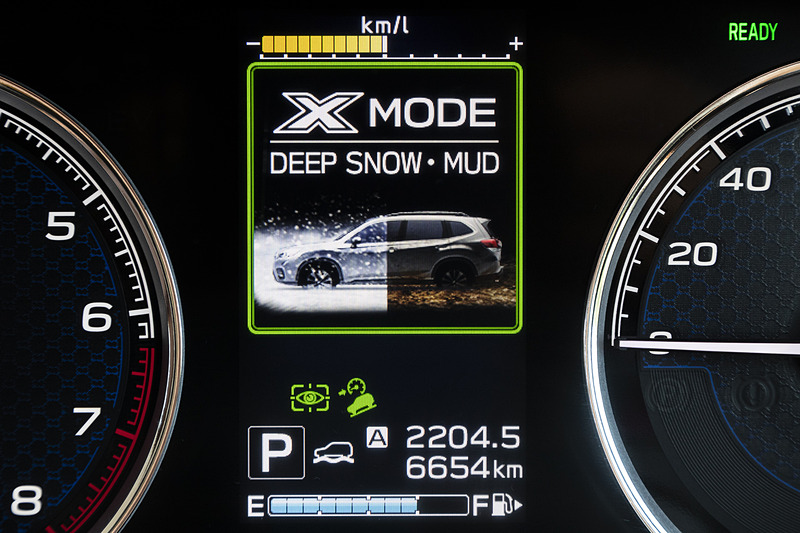 「DEEP SNOW・MUD」モード