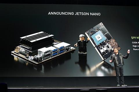 GTC 2019】NVIDIA、価格99ドルのAIコンピュータ「Jetson Nano
