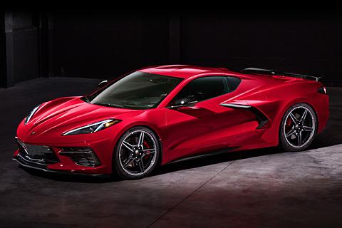 GM、新型「コルベット」世界初披露。8世代目はミッドエンジンに - Car Watch