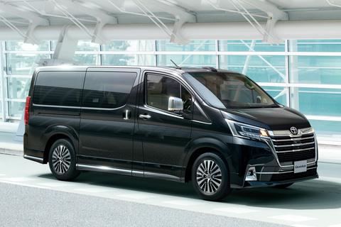 トヨタ、4列シート8人乗りも設定する新型フルサイズワゴン