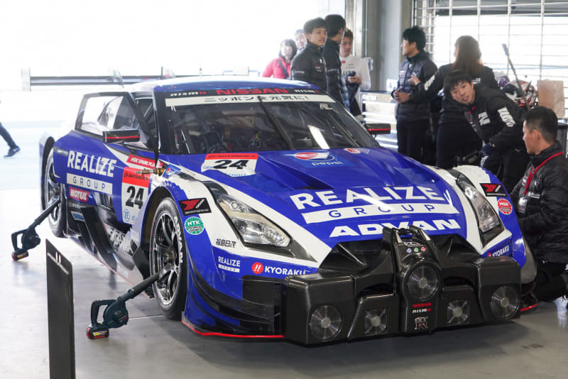 REALIZE Corporation ADVAN GT-R(2019 SUPER GT)