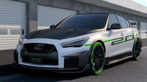 日産、「東京オートサロン 2020」出展概要。「SKYLINE 400R SPRINT CONCEPT」登場 ...