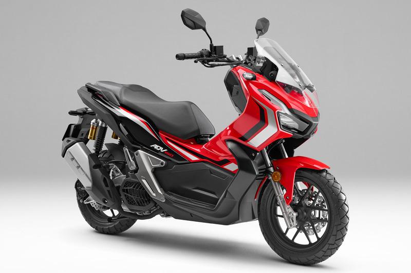【二輪車】ホンダ、アドベンチャースタイルの新型スクーター「ADV150」。高速道路を走行可能な149ccエンジン搭載