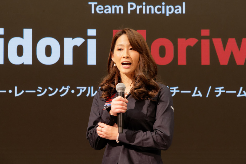 MIE Racing Althea Honda Team チーム代表 森脇緑氏