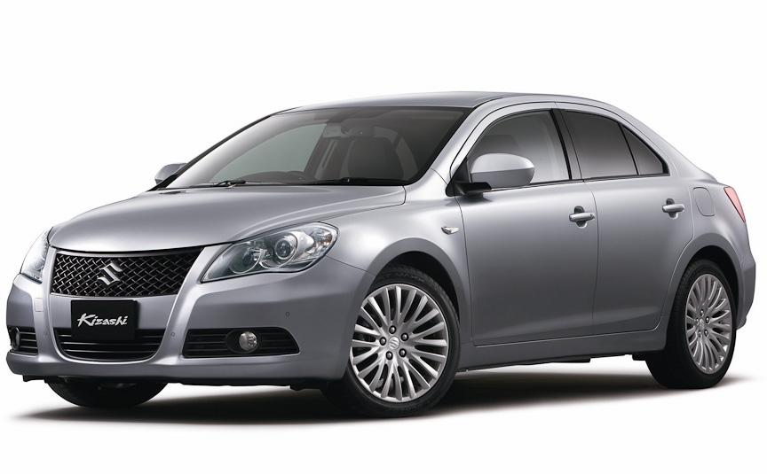 [画像]スズキ、新型セダン「キザシ」 / 2.4リッターエンジン搭載のフラッグシップセダン(4/11) - Car ...
