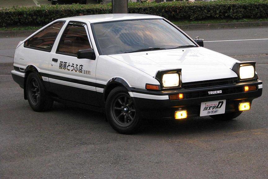 スプリンタートレノ(AE86)イニシャルD仕様 スプリンタートレノ(AE86)イニシャルD仕様