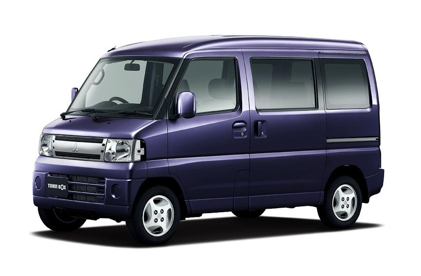 2010 Mitsubishi Town Box Minicab Jdm Archive Carspyshots
