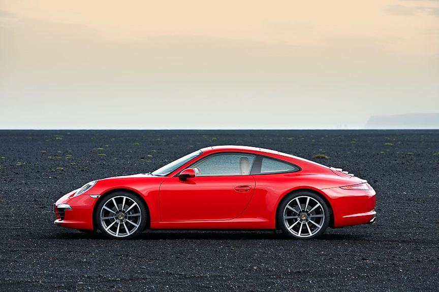 [画像]独ポルシェ、新型「911」の詳細を公開 / 「911カレラ スニークプレビュー」リポート(7/30) - Car Watch