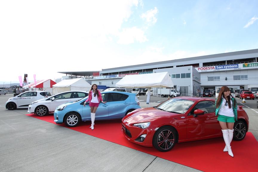 FUJI SPEEDWAY MOTOR SPORTS DREAM 2012が同時開催されており、パドックではさまざまなイベントが行われていた。その一角にはトヨタ86のS耐ST-4仕様(?)も