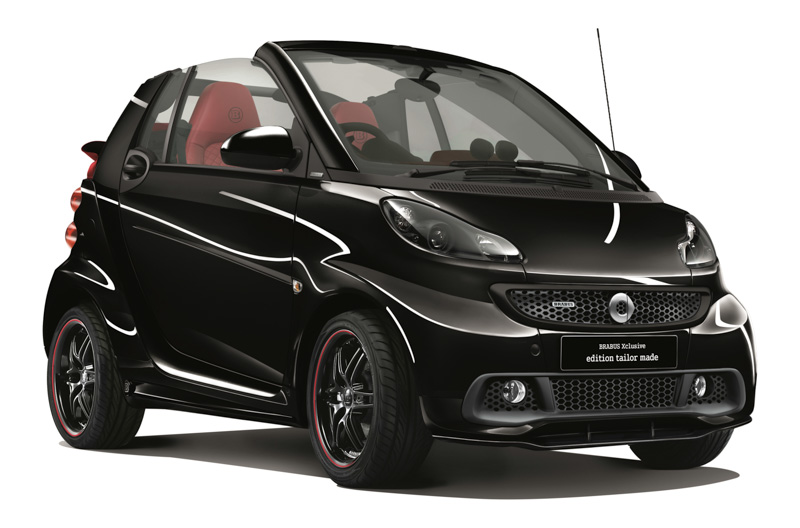 smart fortwo brabus xclusive edition tailor made. Black Bedroom Furniture Sets. Home Design Ideas