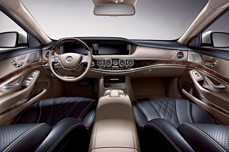 画像 メルセデス・ベンツ、先進装備で 高級車の新基準 を目指す新型「sクラス」 専用フルレザー仕様の限定車