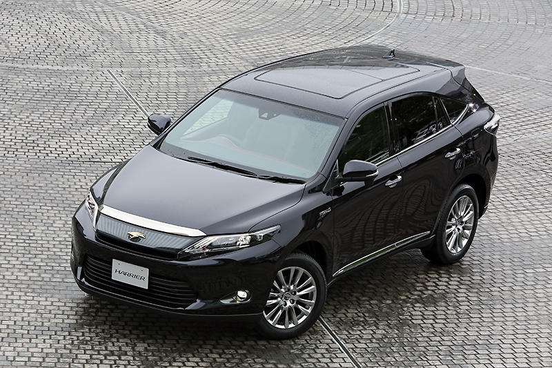 2014 toyota harrier luxury version of rav4 used to be based on rx clublexus lexus forum. Black Bedroom Furniture Sets. Home Design Ideas