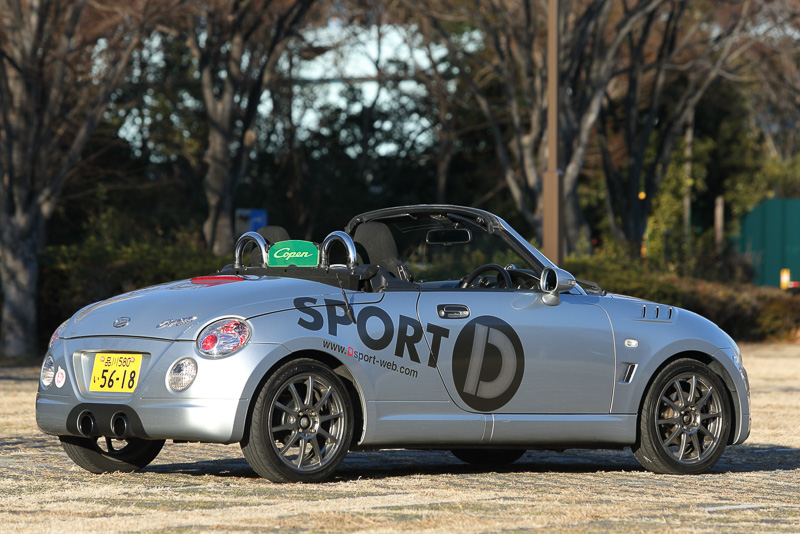 「D-SPORTコペン(AT)」