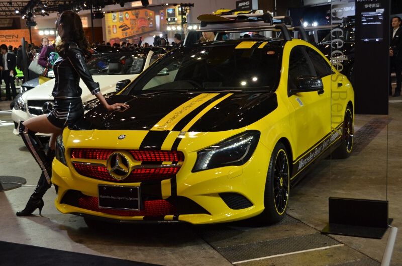 CLA 180(Mercedes-Benz Sport Equipment装着車/参考展示)