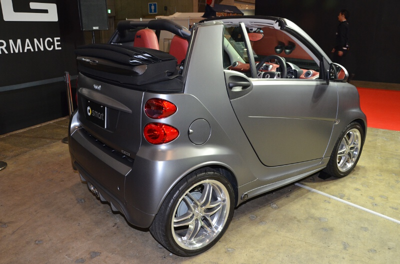 smart fortwo cabrio BRABUS Xclusive edition tailer made