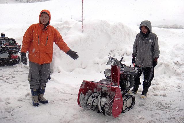 画像]ホンダ、越後湯沢で除雪機...