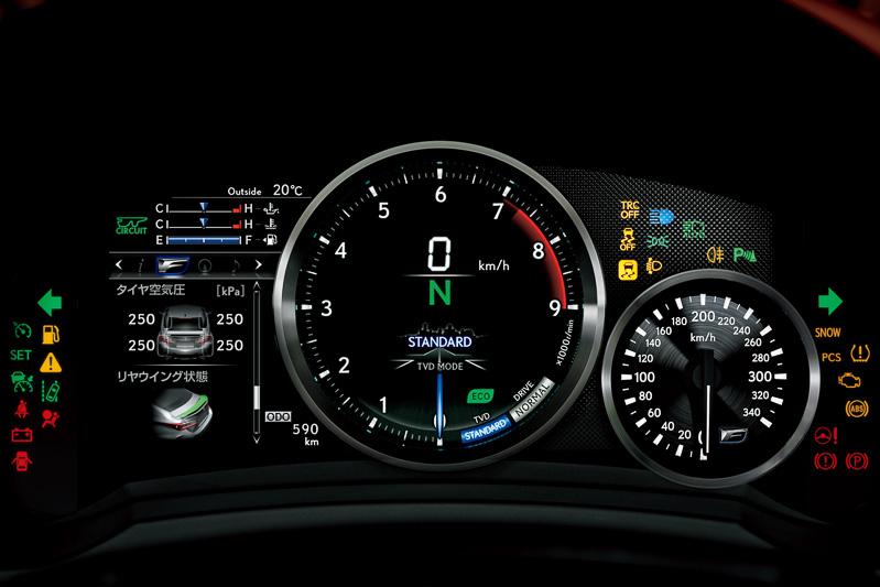 [画像]レクサス、新型スポーツクーペ「RC」「RC F」 / 477PSを発生する5.0リッターV8や燃費23 ...
