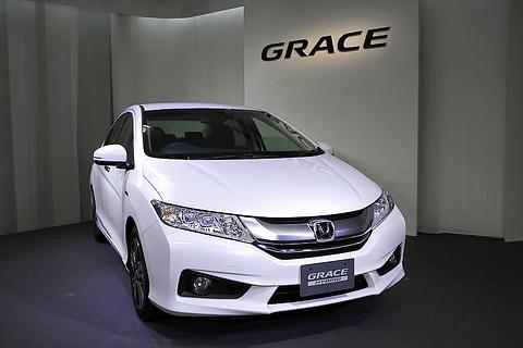 ホンダ、 コンパクトカーセダンの概念を打ち破る 「グレイス」発表会 Car Watch