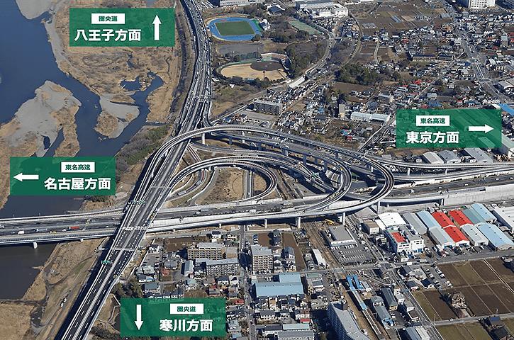 国交省とNEXCO中日本、東名高速 ... : 日本地図 関東地方 : 日本