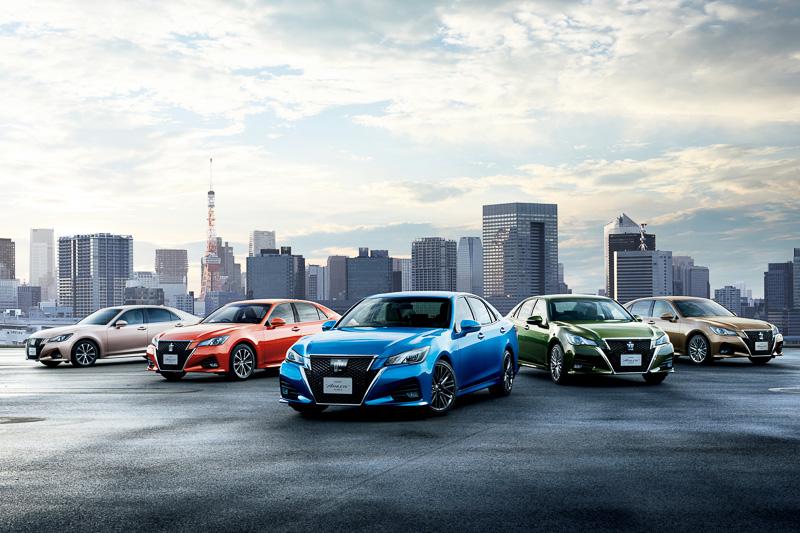 【画像】トヨタ、クラウンをマイナーチェンジ 新色も沢山登場