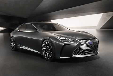 レクサス、インホイールモーターや自動運転技術を採用した燃料電池車「LF-FC」を世界初公開 -