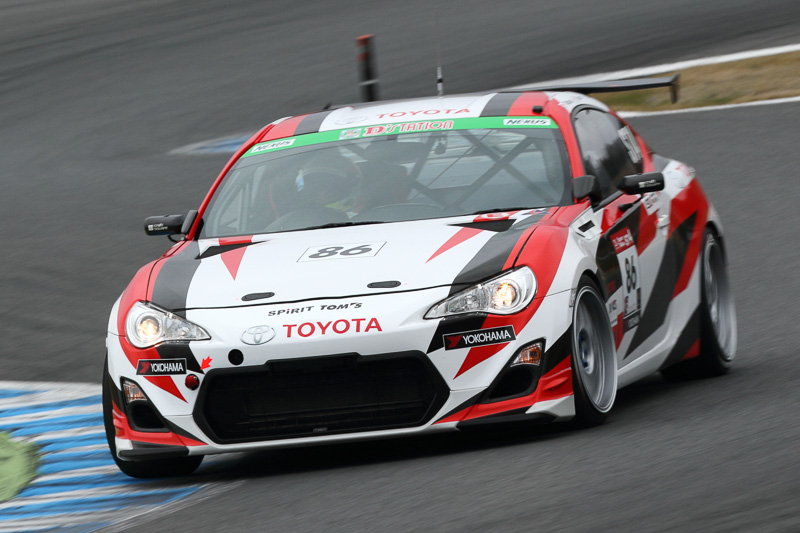 2位 No.86 TOYOTA Team TOM'S SPIRIT 86(TOYOTA86)
