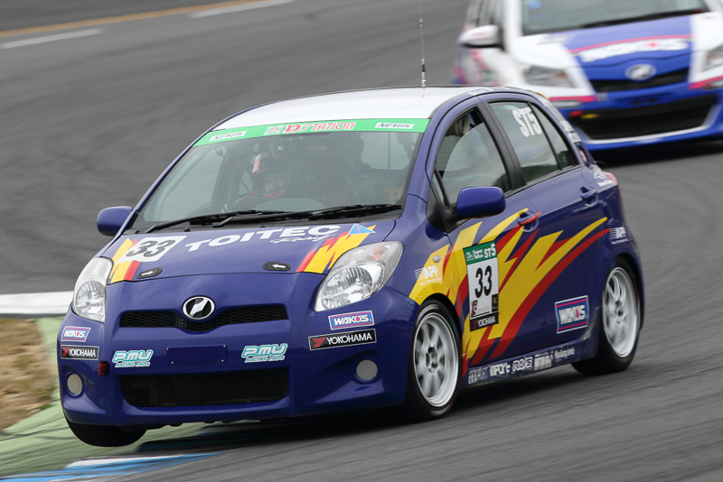 10位 No.33 TOITEC Racing WAKO'S μ VITZ(TOYOTA Vitz RS)