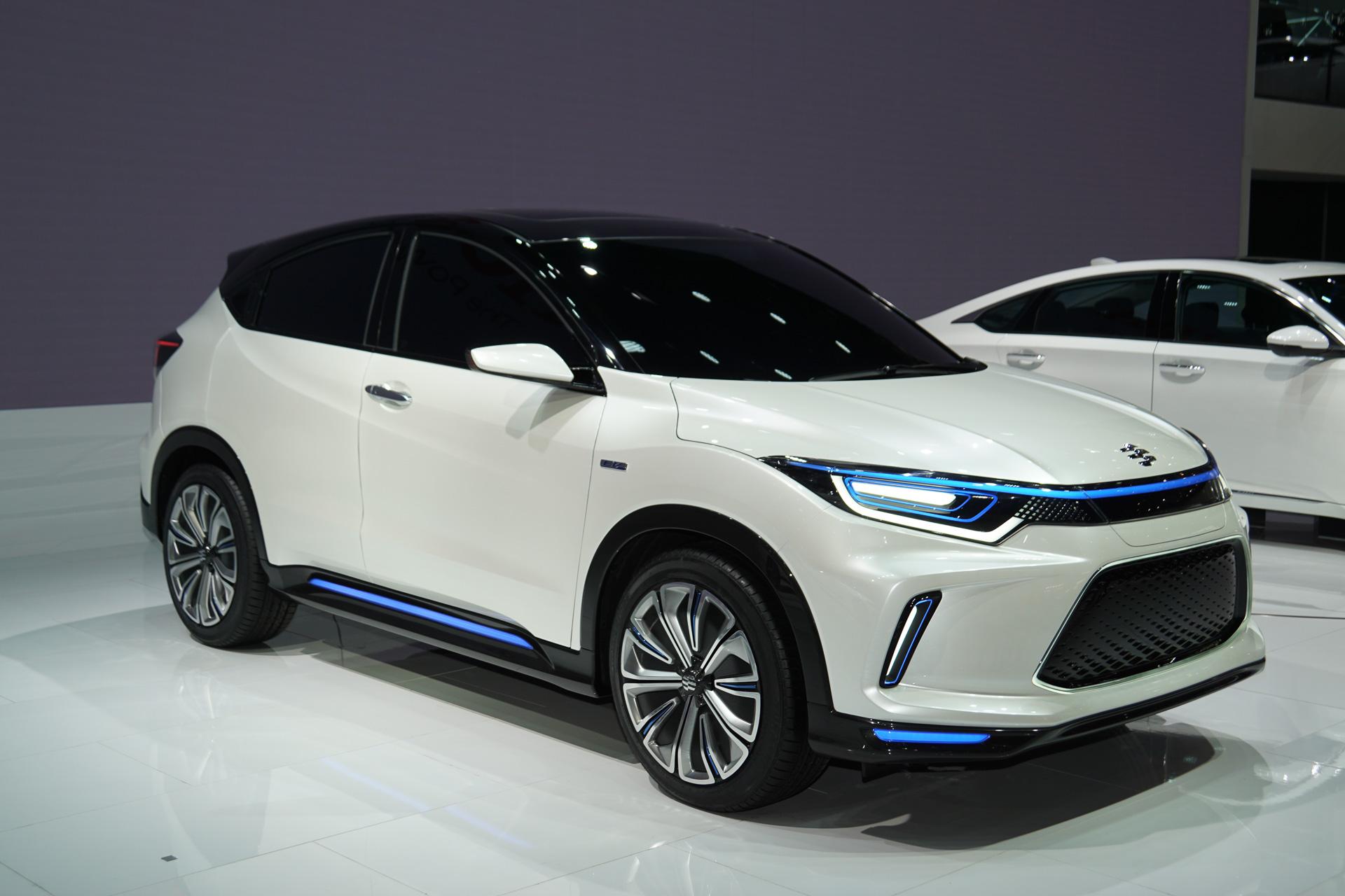 【北京モーターショー 2018】ホンダ、中国専用EV「理念 EV コンセプト」世界初公開