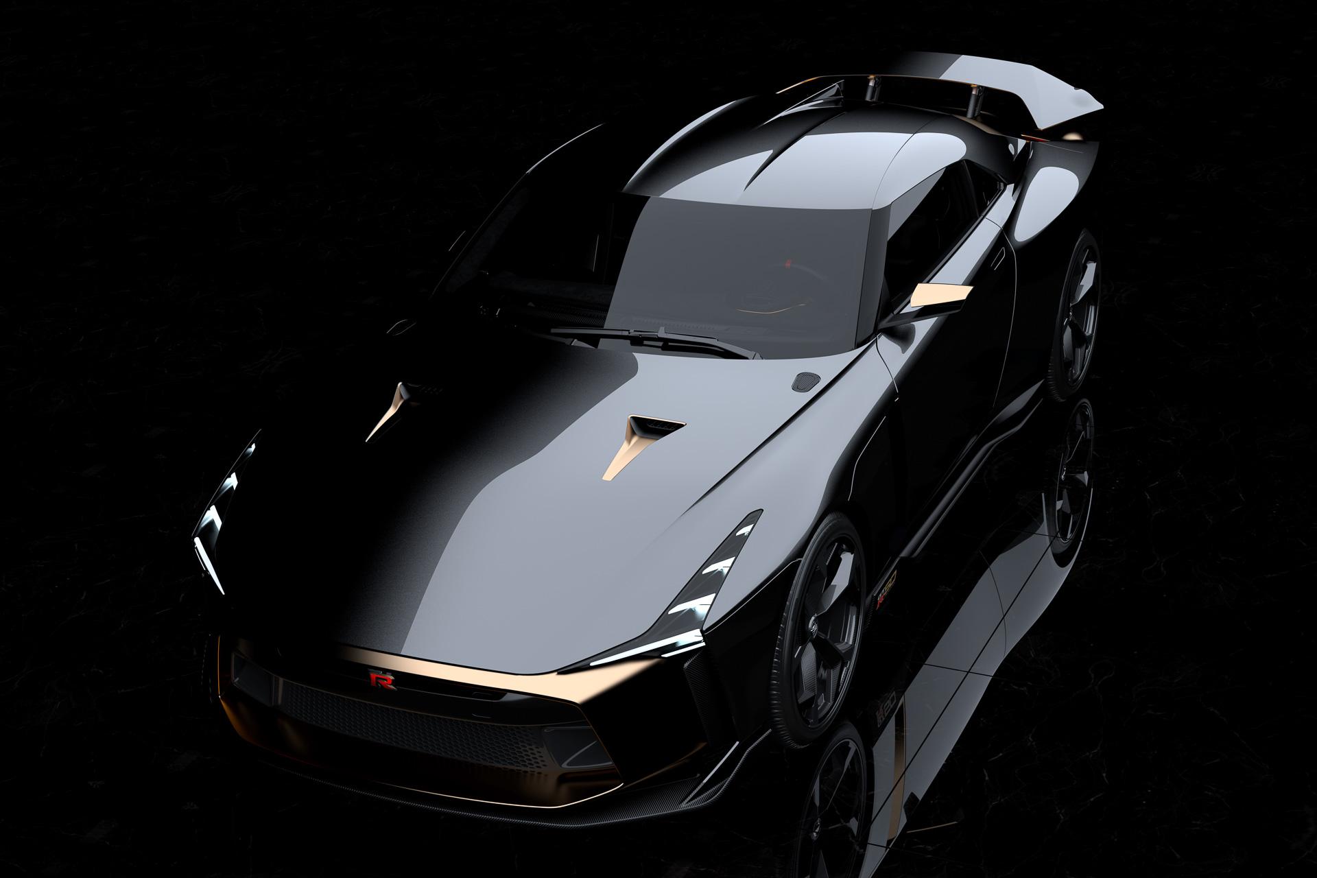 日産、「GT-R」「イタルデザイン」50周年記念プロトタイプ「Nissan GT-R50 by Italdesign ...