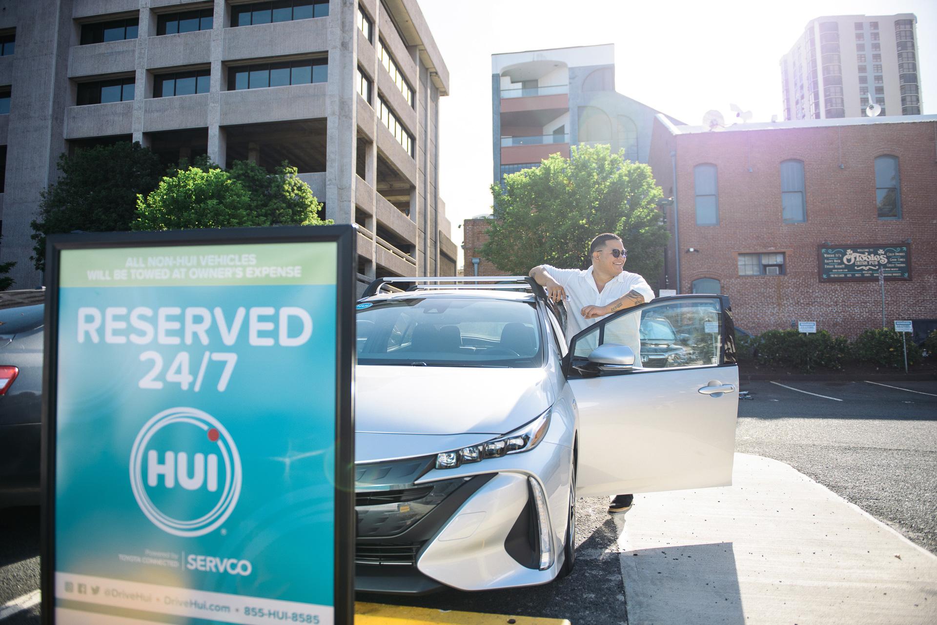 トヨタ、MSPF活用のカーシェアサービス「Hui」米ハワイ州で開始