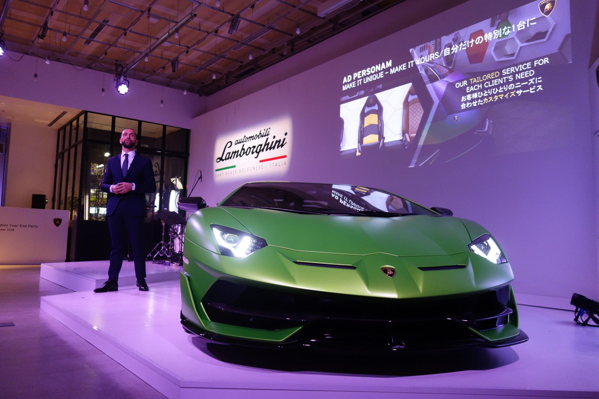 ランボルギーニ、2018年の世界販売台数は4500台以上、日本は540台以上で新記録達成の見込み