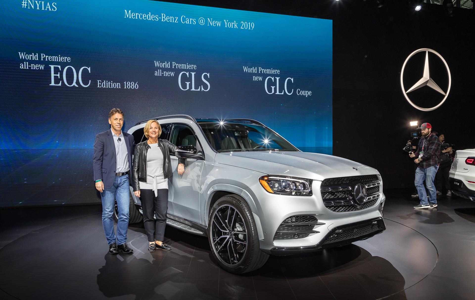 【ニューヨークショー 2019】メルセデス・ベンツ、 Suvのsクラス 新型「gls」世界初公開