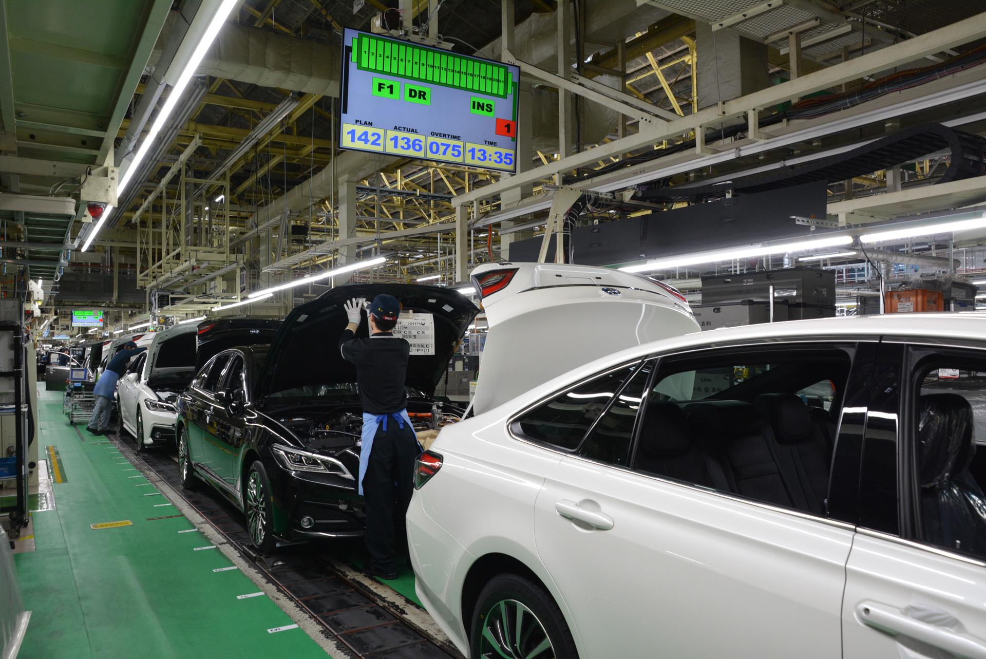 トヨタ、5月以降に国内工場で生産稼働調整を実施