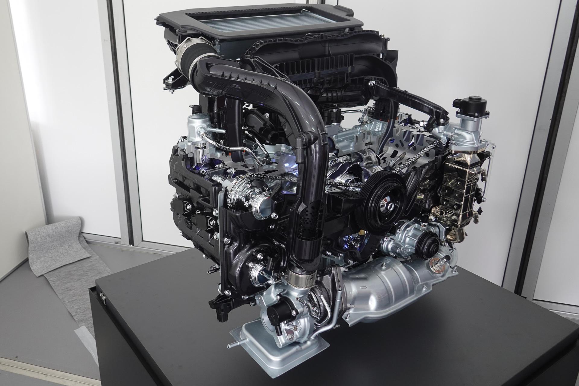 スバル、新型レヴォーグのCB18エンジンは熱効率40% λ=2のリーン燃焼 ...