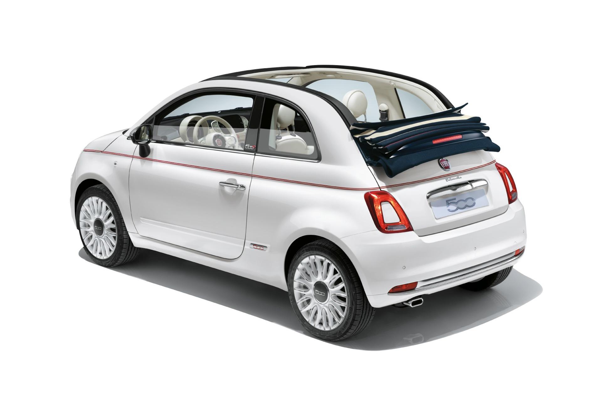 フィアット、「500」「500C」に限定車「ドルチェヴィータ」 - Car Watch