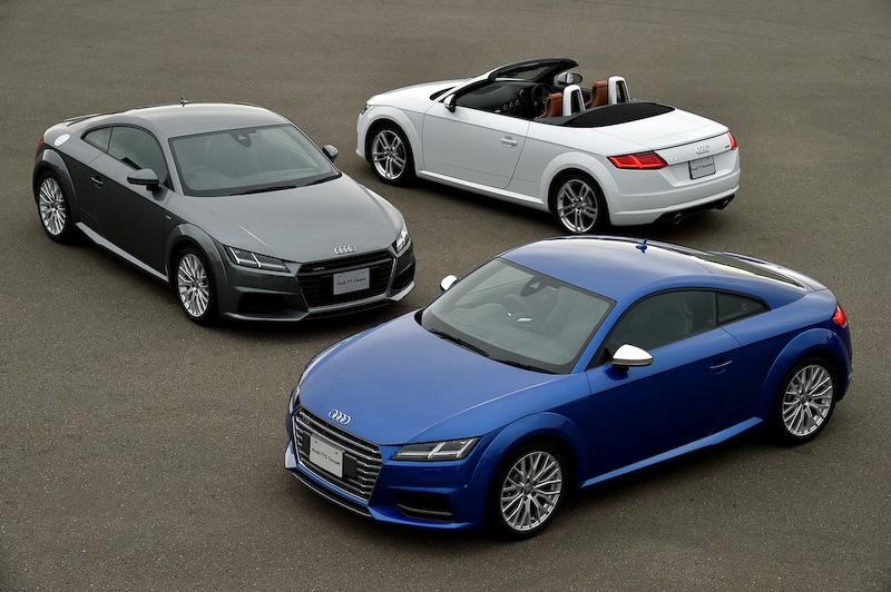 アウディ アウディ tt ロードスター クワトロ : car.watch.impress.co.jp